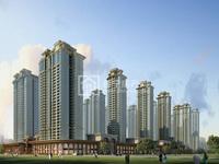 御景三期170多平,4房2 ,园心楼层,园林风景绿化足,售价158万