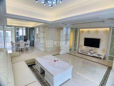 广达世纪领寓小区 现代简欧装修带家私电 150平未拜神未入住 售73.8万