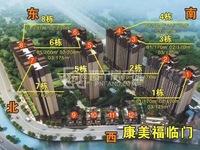 福临门黄金雅楼层125平赠送23平,超高使用率,4房2厅,看山景,售108万
