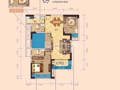 盛世华府5栋超雅楼层102.99平三房,折后价7720元,公司改名可按揭