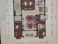 商品城陈宝文学校附近 电梯单户雅楼层 格局雅 160平方4房2厅现楼即买即可装修