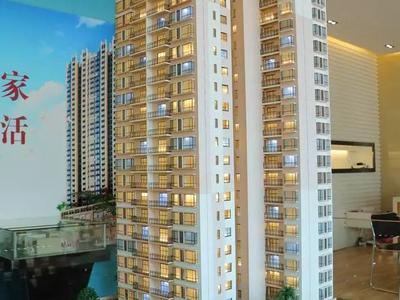 百美雅宛三房二厅户型131平 单价5800元 首付仅23万元 国有证可改名可按揭
