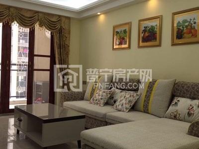 尚东一品三房两厅欧式装修带家私家电齐全,月租金3167元,可租半年,拎包入住
