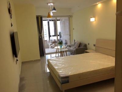 时代中心星座北欧装修风格带家私家电齐全,月租金1800元,拎包入住可短租