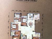 新华城稀缺楼王233平方毛呸房,望园心园景全景,随时可装修,二手交易