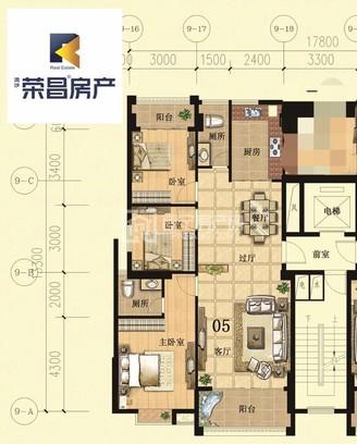 尚堤中央三期 131平3房 毛坯房 小区管理配套车库天然气管道 二实旁配套成熟